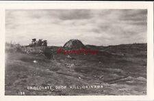 Postcard RPPC Chocolate Drop Hill Okinawa Japan