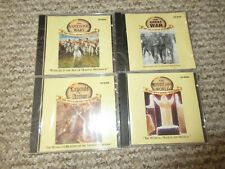 4 x Virtual History Collection PC Edition Cd Roms great war napoleonic arthur