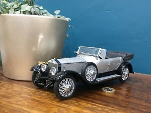 Franklin/Danbury mint 1:24 1925 Rolls-Royce silver ghost classic model 118 rare