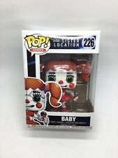Funko Pop! Five Nights At Freddy 'hermana ubicación Bebé #226 tarjetas comerciales Gratis!