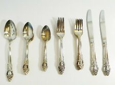 27 Pieces of International Silverplate Flatware