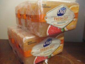 (8) Bars Dial Fresh Cut Citrus Agrumes Triple Refined Bar Soap 8oz  DISCONTINUED