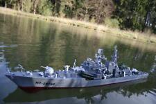 2 St. x DEFEKTES RC ferngesteuertes Schlachtschiff DUKE Kriegsschiff Schiff Boot