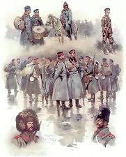 BULGARI ESERCITO SOLDATO guerre balcaniche 1912 6x5 pollici stampa R
