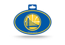 new styles 09271 3167d NBA Golden State Warriors Color Oval Team Logo Decal Sticker Car Auto