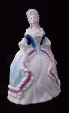Beautiful Goebel 1786 Vintage Signed Porcelain Roccocco Statue: Marie Antoinette