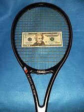 AMF Head Graphite Vector Tennis Racquet 4 3/8 L Grip Vintage #3062-TIGHT+GREAT
