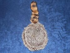 Bass Pro Shops Raccoon Tail Hat Coontail Adult Med Made in U.S.A. Bloom Brothers