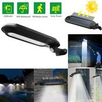 18 LED Solar 4 PIR Motion Sensor Light Outdoor Yard Garden Wall Lamp Waterproof