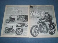"1980 Yamaha XJ650G Vintage Bike Test Info Article ""Something Special"""
