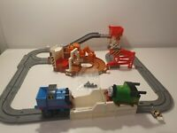 Vintage Thomas Tank Engine TOMY Big Loader Track Playset 2001