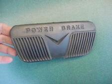 1956 Cadillac  Brake Pedal Pad Power Brake OEM Black Very Nice!