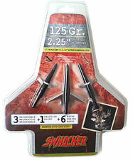 Swhacker 125 Grain Broadhead w/Practice Head 2 1/4