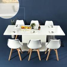 Wooden Extendable Dining Table Seat of 8 Hign Gloss/beech High Gloss