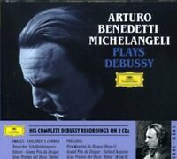 Arturo Benedetti Michelangeli - Claude Debussy: Piano Works [CD]