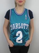 Champion Larry Johnson Charlotte Hornets NBA Jersey Youth Large Womens  Small Vtg c28e5c08b8