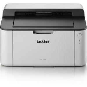 B-Ware Brother HL-1110 Schwarzweiß-Laserdrucker 2400x600 DPI USB A4 20 S./Min.
