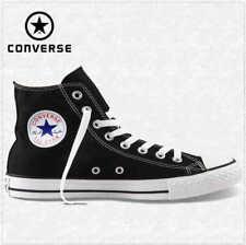 Converse M9160C Nere Alte Black High Optic White Tela Classic All Star ox unisex