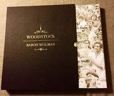 WOODSTOCK-BARON WOLMAN, MICHAEL LANG, CARLOS SANTANA-SIGNED LIMITED ARTIST EDIT
