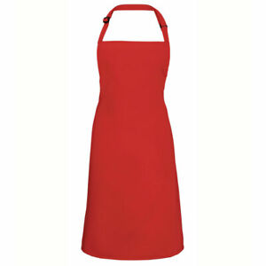 Red Children's Aprons | Brightly Coloured Cotton Aprons | Perfect for Printing