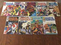 MARVEL FANFARE 13-21, Complete Set of 9, Black Widow, Captain America, Hulk!
