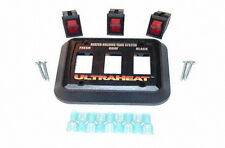 UltraHeat - 3 Gang System Switch Kit with Lighted Switches, , 120 VAC