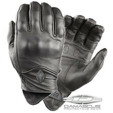 Damascus ATX95XLG Men's Black ATX95 All-Leather Gloves Knuckle Armor -SZ XL