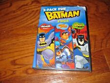 Batman: 3-Pack Fun: DC Comics Superhero (DVD,2011,3-Disc Set) NEW; Fast Shipping