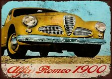 Alfa Romeo metal wall sign