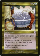 Teferi's Moat Time Spiral - Timeshifted NM White Blue Special CARD ABUGames