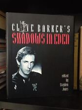 Clive Barker Shadows in Eden 1st Trade HC Signed by Clive and Doug Bradley