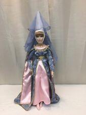 Franklin Mint Queen Guinevere Of Camelot Porcelain Doll (mm1433)