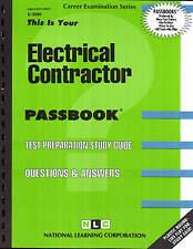 Electrical Contractor Exam Practice Test Passbook