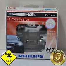 A Pair of Genuine Philips H7 12V 55W +100%  X-treme Vision Bulbs