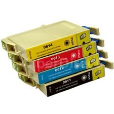 4 CiberDirect T0611 T0612 T0613 T0614 Ink Cartridges to fit Epson Printers