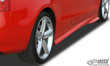 "RDX Seitenschweller Audi A5 B8 8T3 Coupe 8F7 Cabrio ""Turbo-R"" Schweller Set ABS"