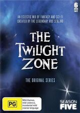 The Twilight Zone The Original Series Season 5 (6-Disc DVD) REGION FREE - NEW!