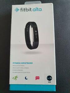 FitBit Alta Fitness-Tracker schwarz Armband Smartband Aktivitätstracker