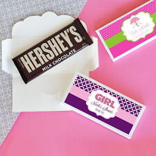 24 Personalized Baby Shower Theme Candy Bar Wrappers Baby Shower Favors