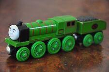 THOMAS TANK TRAIN SET Wooden Railway Engine Big City Engine *RARE* - Excellent