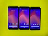 Google Pixel 3 - 64GB & 128GB - Black - White - Pink (Unlocked) Choose Color