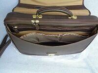 Atlas American belting leather XL shoulder bag/briefcase: lifetime lasting case