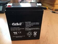 Casil Genuine CA1240 NT1240 12V 4AH First Alert ADT Alarm Replacement Battery