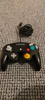 Official Nintendo Black Gamecube Controller Gamepad,Fast postage,Tested