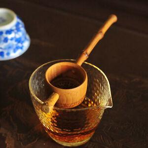 Tea Filter Vintage Bamboo Colander Infuser Tea Accessory Strainer for Home.
