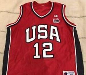 NEW Champion jersey Team Usa Basketball  #12 Williams Vintage OLYMPICS XL