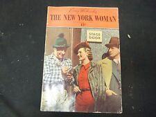 1936 NOV 11 THE NEW YORK WOMAN MAGAZINE - VOLUME 1, NUMBER 10 - ST 3808