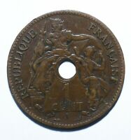 1901 French Indochina 1 Centime - Lot 333