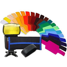 Color Gels Filter SE-CG20 for Canon/Nikon/Oloong/Yongnuo/Sony/FLash/Speedlite
