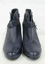 RAG & BONE Blue Leather Ankle Boot Size 39.5